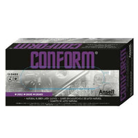 Ansell Conform, Powdered 100% Natural Latex Gloves - Case
