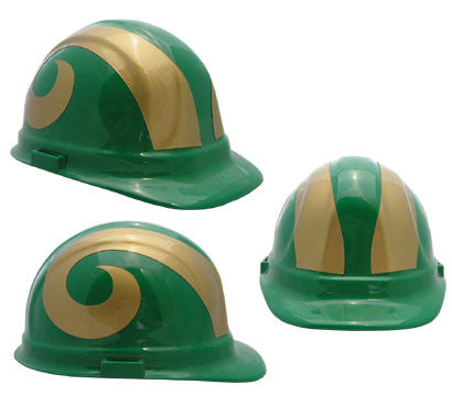 CSU Rams - NCAA Team Logo Hard Hat Helmet