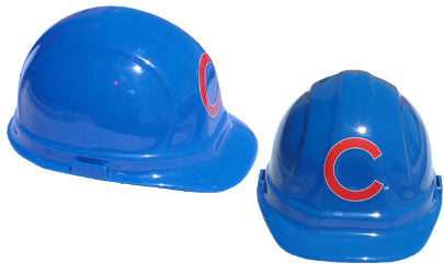 Chicago Cubs - MLB Team Logo Hard Hat Helmet