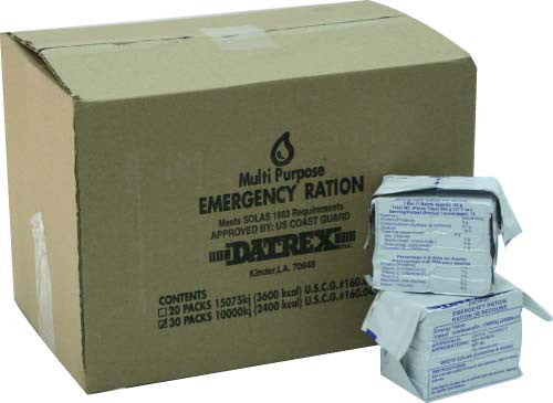 Datrex 2400 Emergency Food Bar - Case