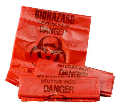 Hazardous Waste Bag - 1 Roll