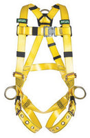 "MSA X-Large Gravityâ""¢ Urethane-Coated Vest Style Full-Body Harness With Back And Hip D-Rings And Tongue Buckle Leg Straps"