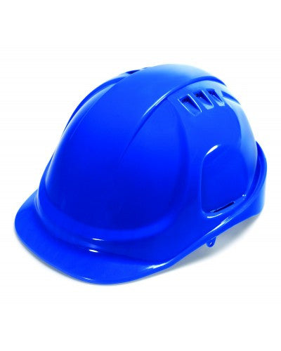 Durashell - Vented Cap Style Hard Hat - Blue