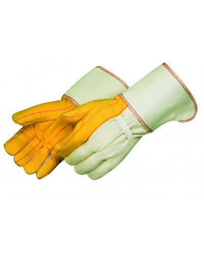 Golden chore glove with gauntlet cuff - Men's - Dozen