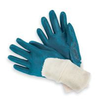 Palm-Coated Nitrile Gloves