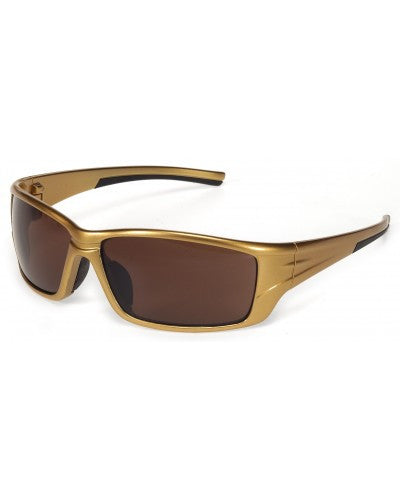 iNOX Eclipse - Brown lens with Gold Frame