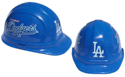 Los Angeles Dodgers - MLB Team Logo Hard Hat Helmet