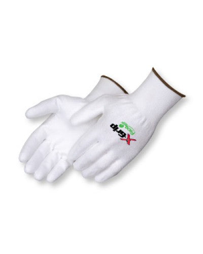 X-Grip White Polyurethane Palm Coated Gloves