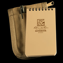 POCKET TOP-SPIRAL KIT Tan Book / Tan Cover