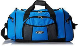 Everest Deluxe Sports Duffel - Royal Blue