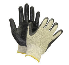 Honeywell Size 8 Black And Yellow NorthFlex-CRT Seamless Knit Nitrile Cut Resistant Gloves With 9 1/2