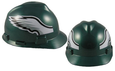 Philadelphia Eagles - MSA - NFL Team Logo Hard Hat