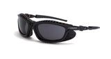 Eclipse Smoke Anti-Fog Lens Matte Black Frame Foam Lined