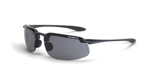 ES4 Smoke Lens Crystal Black Frame