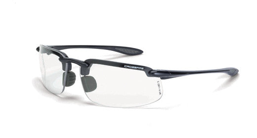 ES4 Clear Lens Shiny Pearl Gray Frame