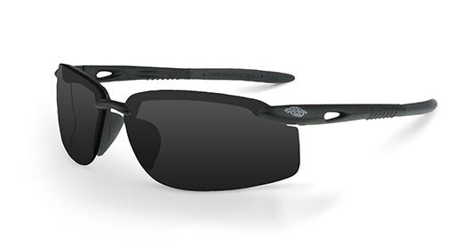 ES5W Smoke Lens Crystal Black Frame