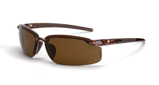 ES5 Polarized HD Brown Lens Crystal Brown Frame