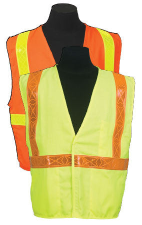 ARC Series 1R Class 2 Safety Vest Size 5X-large Color Orange