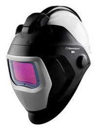 "3M Speedglas Black Welding Helment With 1.8"" X 3.7"" Variable Shades 5, 8 - 13 Auto Darkening Lens 9100 QR"