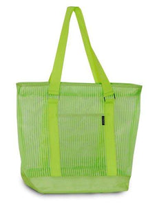 Everest Mesh Shopping Tote  - Lime