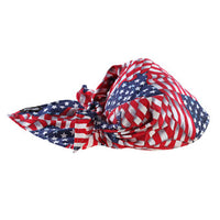 Ergodyne Evaporative Cooling Triangle Hat - Stars And Stripes