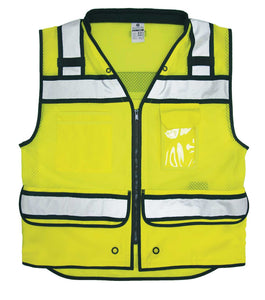 ML Kishigo - Economy Zipper Surveyor's Vest