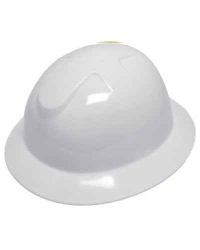 Durashell - Full Brim Hard Hat - White
