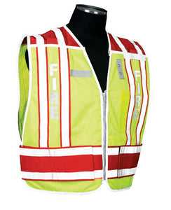 400 PSV Pro Series Public Safety Vest Type Sheriff - Brown Size: 2X-large - 4X-large, Lettering No