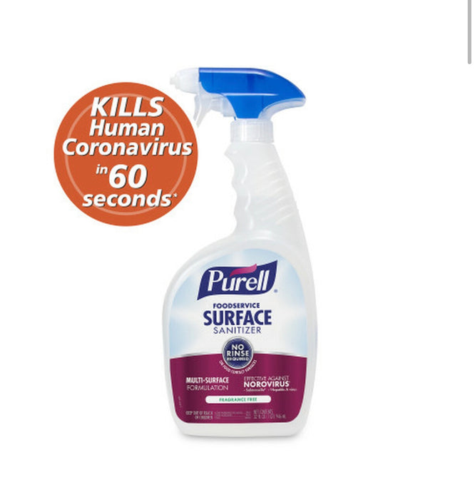 Purell Foodservice Surface Sanitizer No-Rinse 32oz