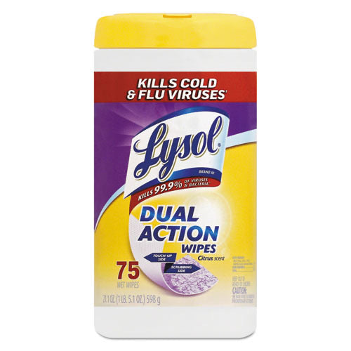 Lysol Dual Disinfecting Wipes
