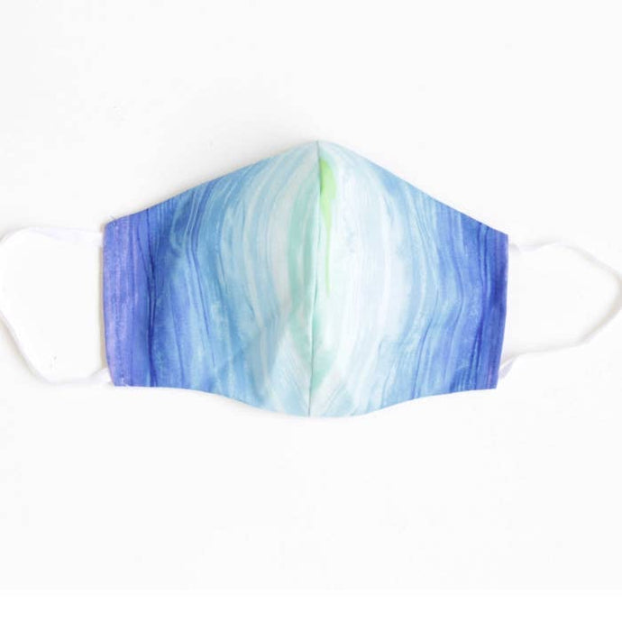 LMC Face Mask with Filter - Aqua Ombre