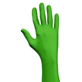 SHOWA Green Eco Best Technology 4 mil Latex-Free Nitrile Powder Free Biodegradable Disposable Gloves (1000 Gloves Per Case)