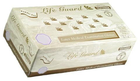 Life Guard - Latex Textured P/F Exam Gloves - Case