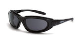 Journey Smoke Anti-Fog Lens Shiny Black Frame Foam Lined