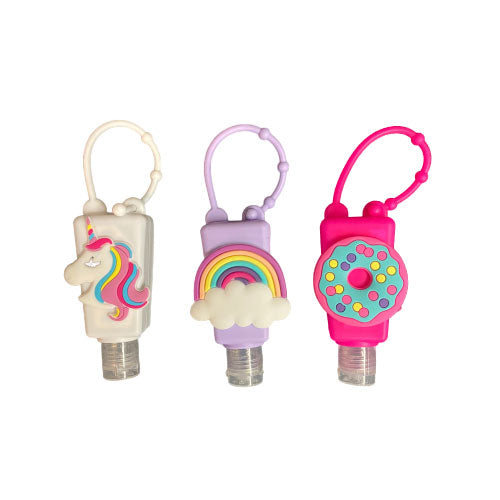 Sanitizer for Kids 3 Pack (Unicorn, Donut, and Rainbow)