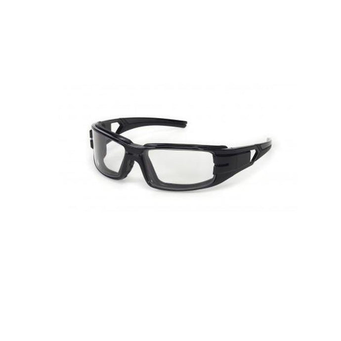iNOX Trooper - Clear anti-fog foam padded lens with black frame