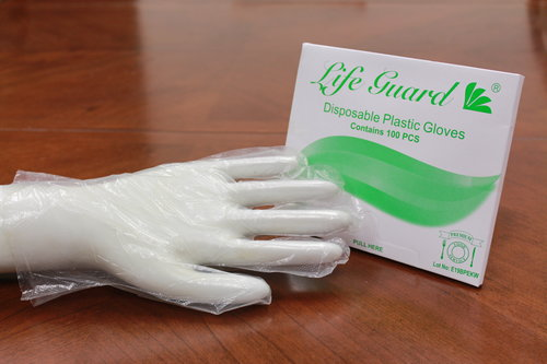 Life Guard -Economic PE Gloves