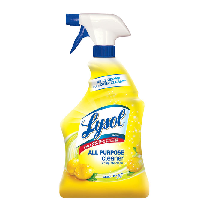 Lysol All Purpose Cleaner Spray  Lemon Breeze 32oz