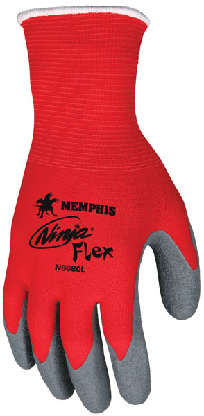 Memphis Ninja Gloves 15 Gauge Red