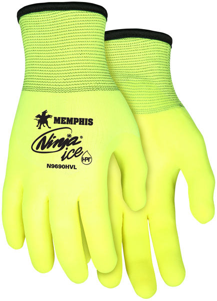 Memphis Ninja Gloves Ice Hi-Vis