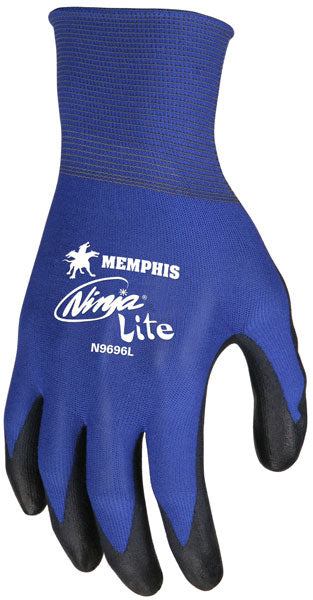 Memphis Ninja Gloves 18 Gauge Blue