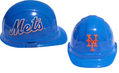 New York Mets - MLB Team Logo Hard Hat Helmet