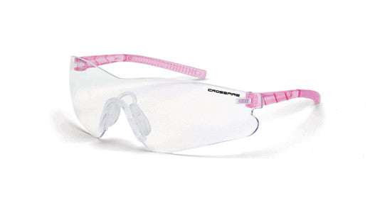 Mini Blade Clear Lens Pink Temples