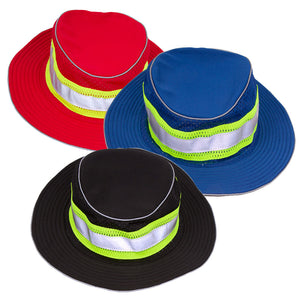 ML Kishigo Enhanced Visibility Full Brim Safari Hat