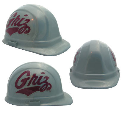 Montana Grizzlies - NCAA Team Logo Hard Hat Helmet