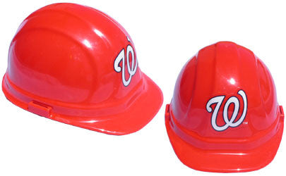 Washington Nationals - MLB Team Logo Hard Hat Helmet