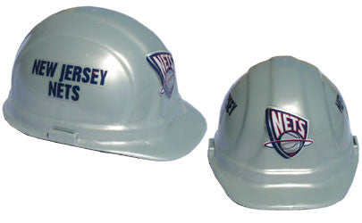 New Jersey Nets Hard Hat Helmet