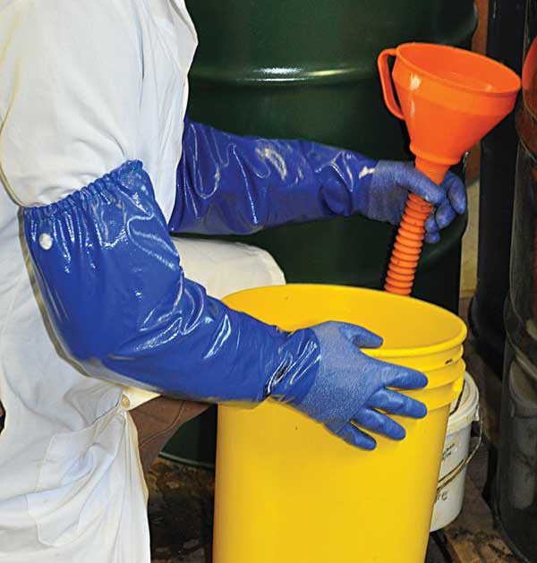 Showa Best Nsk 26 26 Quot Nitrile Gloves With Rough Finish And