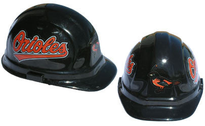 Baltimore Orioles - MLB Team Logo Hard Hat Helmet