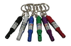Whistle & Id Holder w/Keychain